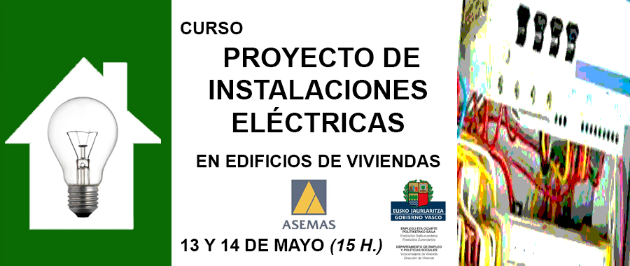 Curso proyecto de instalaciones el ctricas en edificios for Proyecto de construccion de aulas de clases